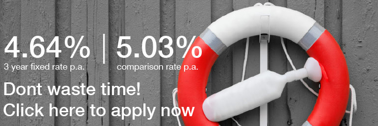 Simply better fixed rate 4.64% fixed 3 year save apply now